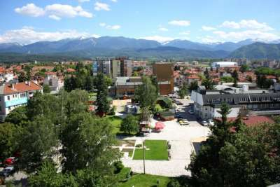 Город Самоков. Болгария