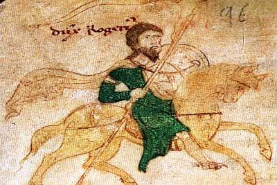 Иллюстрация Рожера Сицилийского