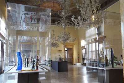 Музей стекла внутри