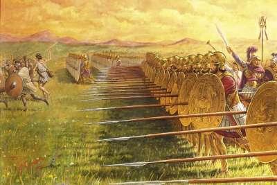 Наступление римской армии