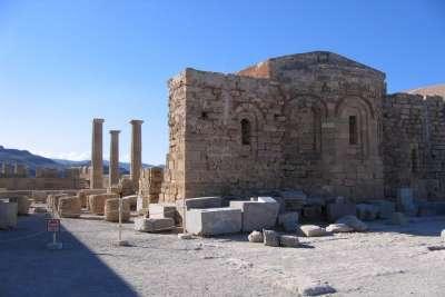 Остатки поселения на Родосе