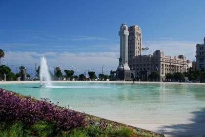 Площадь Испании. Тенерифе
