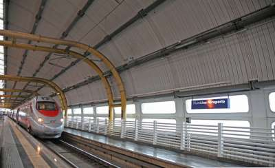 Поезд до аэропорта Фьюмичино