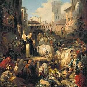 Проповедь Савонаролы во Флоренции