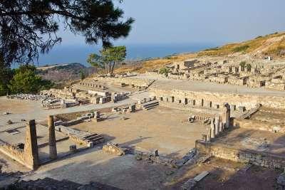 Руины старого города