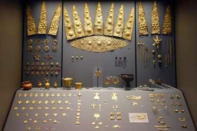 Сокровища из микенских гробниц