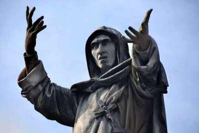 Статуя Джироламо Савонаролы