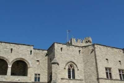 Флаг над главным дворцом столицы