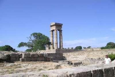Акрополь на горе Монте-Смит
