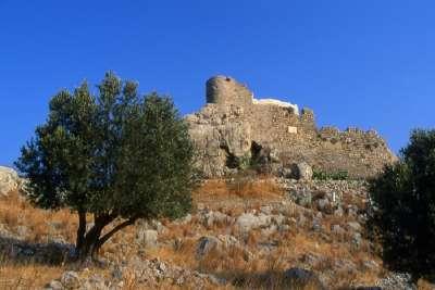 Остатки крепости в Хоре