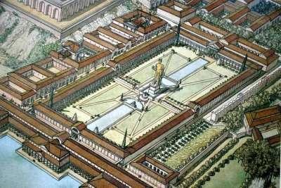 Реконструкция Золотого дома Нерона