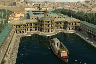 Реконструкция фасада Дома Нерона