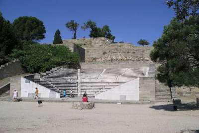 Руины античного Родоса