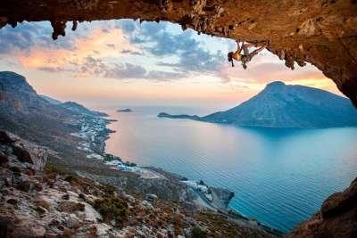 Скалолазанье на Калимносе