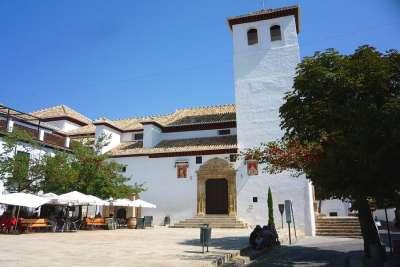 Церковь Сан-Мигель-Бахо в районе Альбайсин