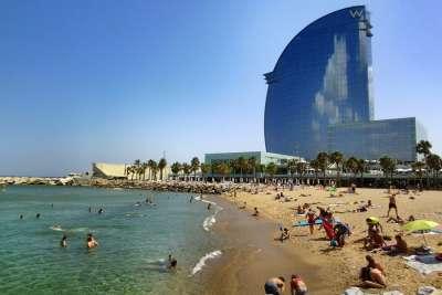 Пляж Барселоны
