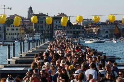 Праздник реденторе в Венеции