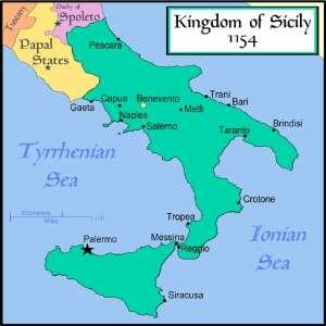 Сицилийское королевство после захвата норманнов