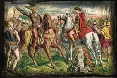 Цезарь и Ариовист