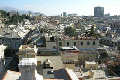 Вид на город с Палаццо Россо