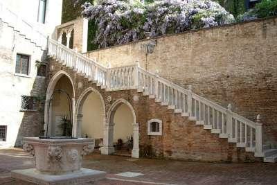 Внутренний двор Фоскари