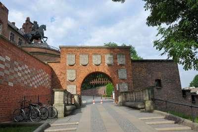 Гербовые ворота Вавельского замка