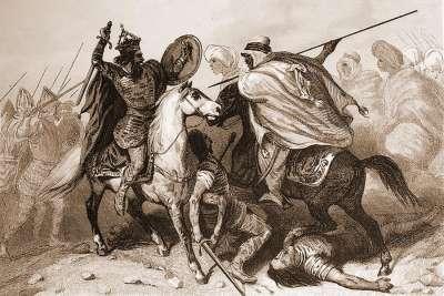 Гибель короля Родериха