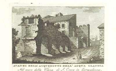 Остатки водопровода на иллюстрации к книге 1820 г.