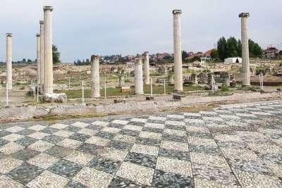 Руины города Пелла