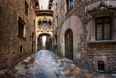 Старые кварталы Барселоны