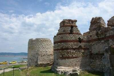 Бургас. Руины средневековой крепости