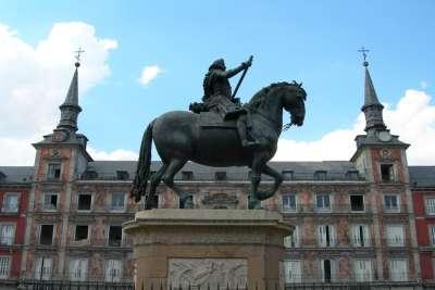 Памятник Филиппу Третьему