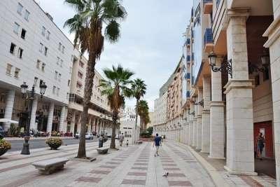 Улица города Сеута