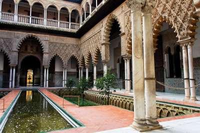 Внутренний двор Алькасара