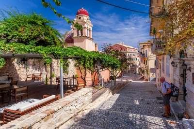 Достопримечательности города Корфу