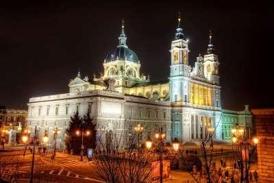 Кафедральный Собор ночь