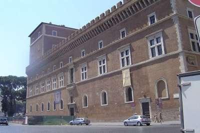 Палаццо Венеция. Вид сбоку