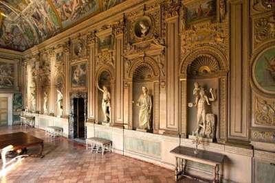 Зал Палаццо Фарнезе