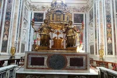 Место захоронения Бернини