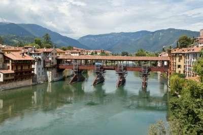 Мост Ponte degli Alpini