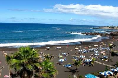 Пляж Пуэрто-де-ла-Крус