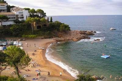 Пляж Тосса де Мар
