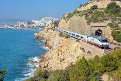Поезд из Барселоны
