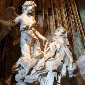 Скульптура в Санта-Мария делла Виттория