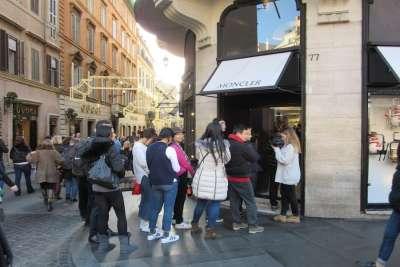 Магазины Рима