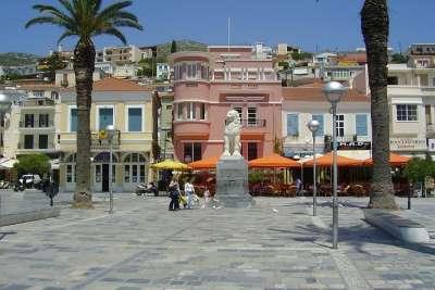 Площадь города Самос
