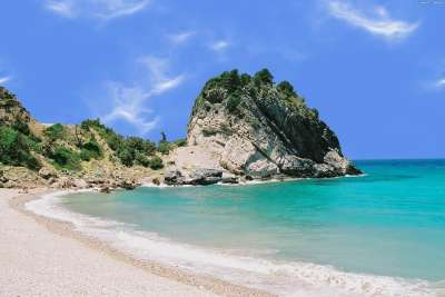 Пляж острова