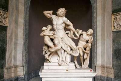 Статуя Лаокоон и его сыновья