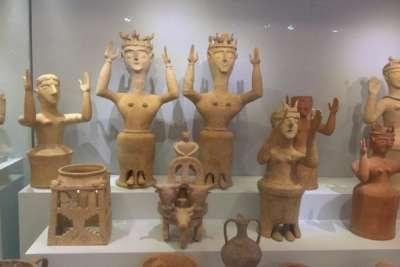 Великая богиня минойского Крита