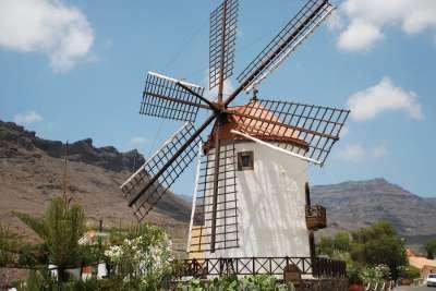 Ветряные мельницы на острове Фуэртевентура